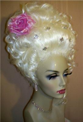 Marie Antoinette Wig Marie Antoinette Tea Party