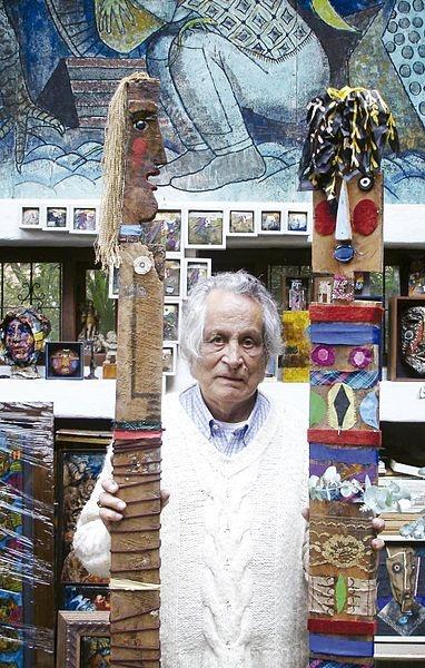Maestro Jorge villegas en su taller artístico @villegasmaestro