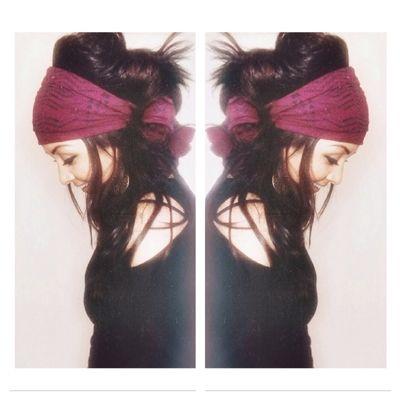 FREE U.S. SHIPPING - Boho Chic Gypsy Headscarf 19.00 + free shipping. LOVE THIS HEADSCARF!
