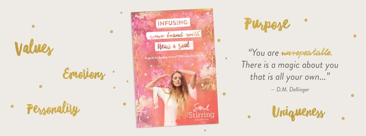 Get ready to infuse your brand with heart & soul. My Free eBook series features six chapters designed to help you harness the power of emotional connection
