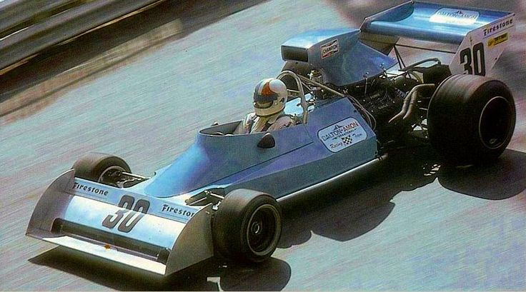 Chris Amon, Amon-Ford AF101, Monaco 1974. Qualified 20th but Missed the start…
