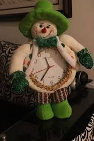 Resultado de imagen para adornos navideños reloj