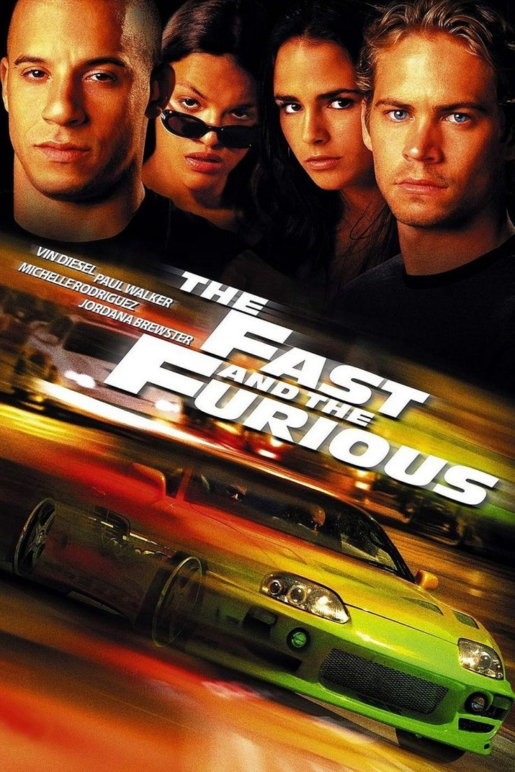 The Fast and the Furious!!! Favorite movie ever <3 (: