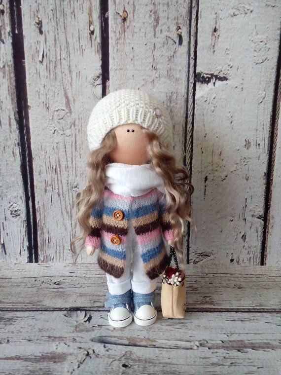 Tilda doll Interior doll Baby doll Art doll by AnnKirillartPlace