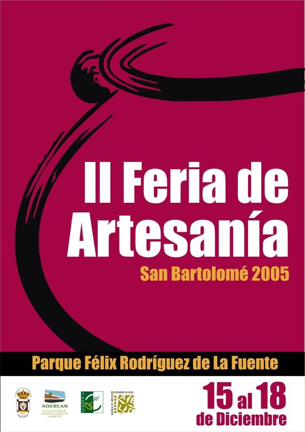 II Feria de Artesanía San Bartolomé 2005