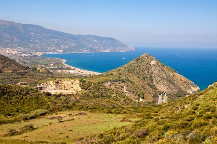 Fotka, Foto Krajina u pobřeží (Sicílie, Itálie)