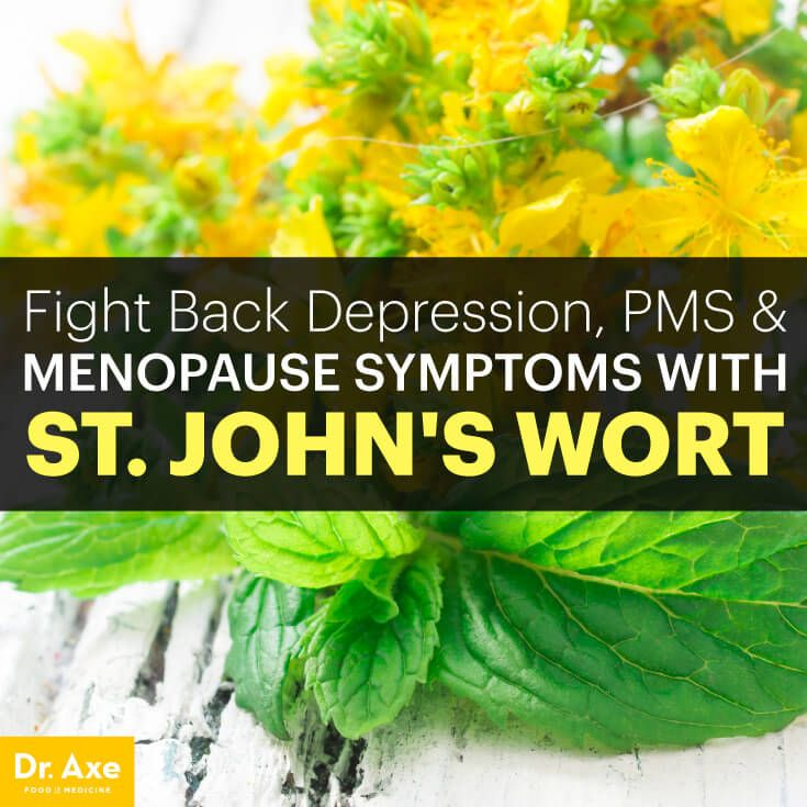 St. John's Wort Uses for Depression, PMS & Menopause - Dr. Axe