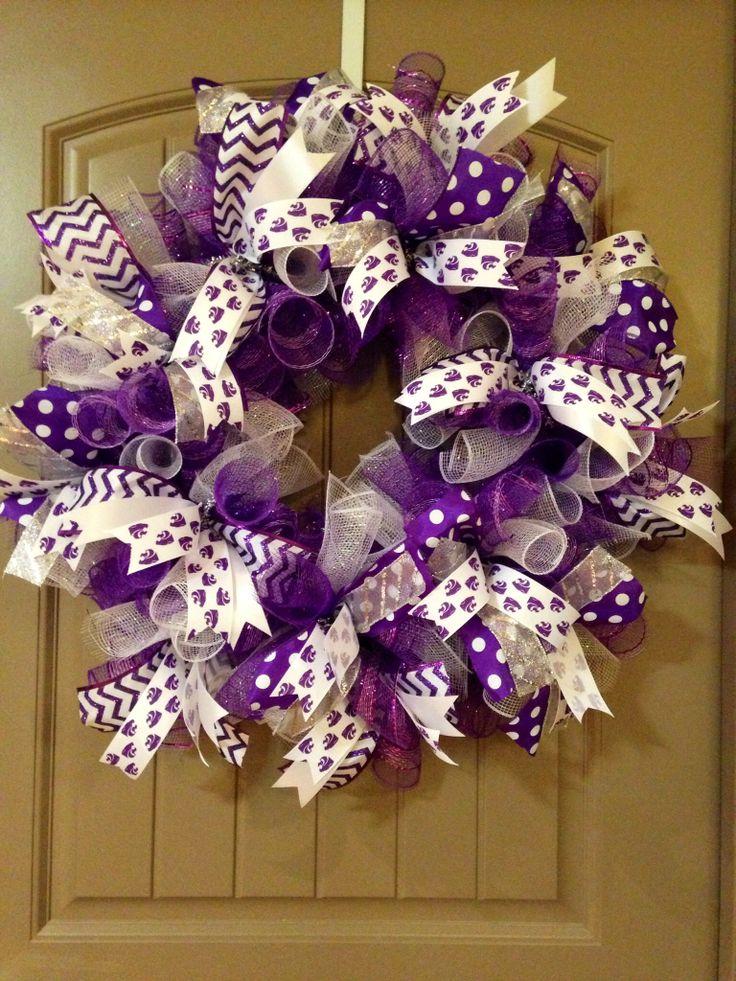 1000 ideas about purple wreath on pinterest wreaths for Deco decorations