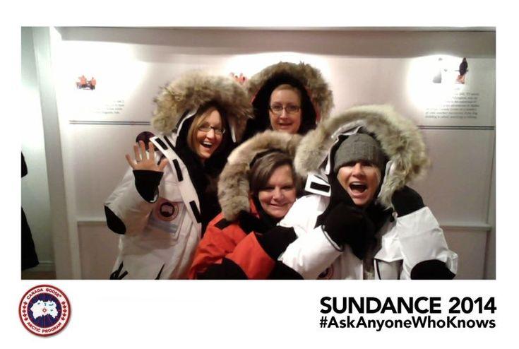 Canada Goose Set Up a Fun Photo Kiosk at the Sundance Film Festival
