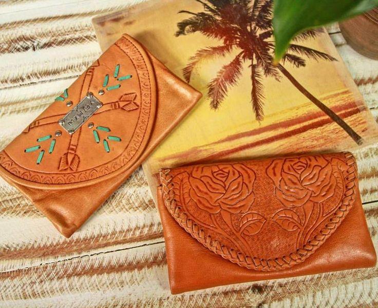 Sun kissed leather 🌴  our Jagger and Amity wallets will warm your heart this Spring ~ www.mahiya.com.au   #mahiya #leatherwork #gypsystyle #handmade #leatherlove #freespirit #wallet #purse #bohochic #leatherwallets