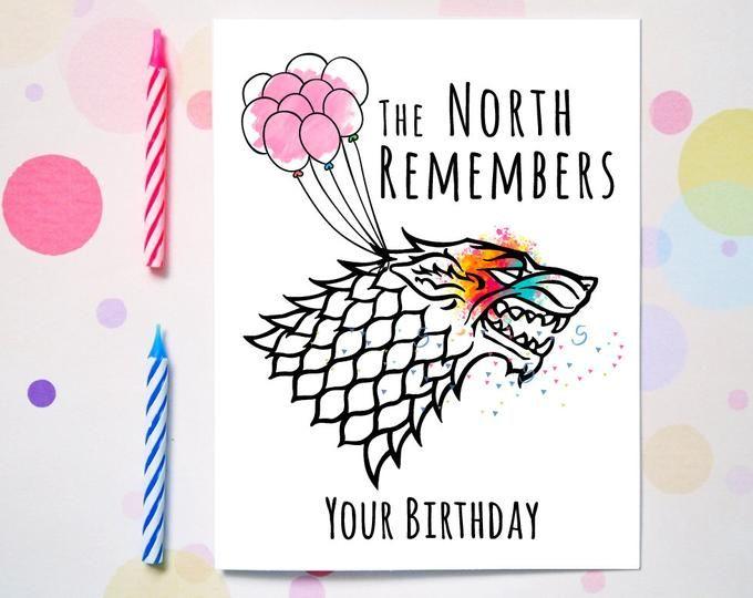 Funny Greeting Cards Cool Vinyl Stickers By Mightydonut On Etsy Game Of Thrones Birthday Birthday Cards Birthday Games