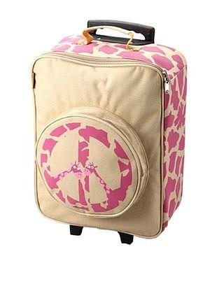 61% OFF D&N Kids Peace Giraffe Rolling Suitcase