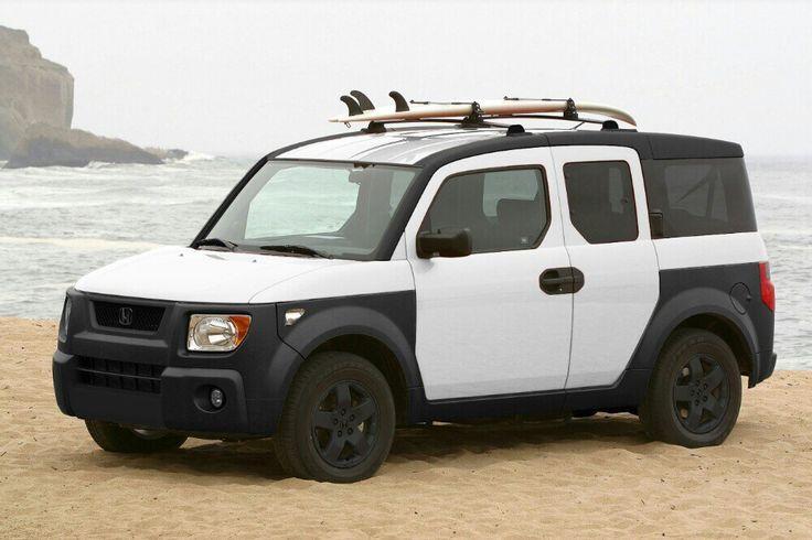 Honda Element Panda Plastidip