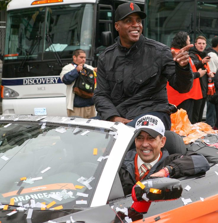 Did you know that Barry Bonds wore a San Jose Giants 2014 BP cap during the San Francisco Giants World Series parade? Wear and own the same hat as the Home Run King by purchasing your cap in the San Jose Giants Dugout Store (Open 10 AM - 5 PM Daily) or purchase on SJGiantsDugout.com.