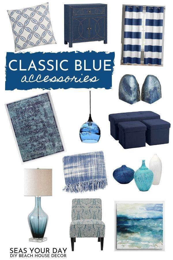 How To Seamlessly Incorporate Classic Blue Accessories Into Your