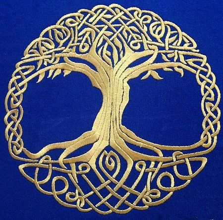 Advanced Embroidery Designs - Celtic Tree of Life