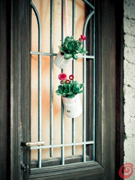 Oltre 25 fantastiche idee su decorazioni primaverili su pinterest corone di fiori primaverili - Decorazioni primaverili per finestre ...