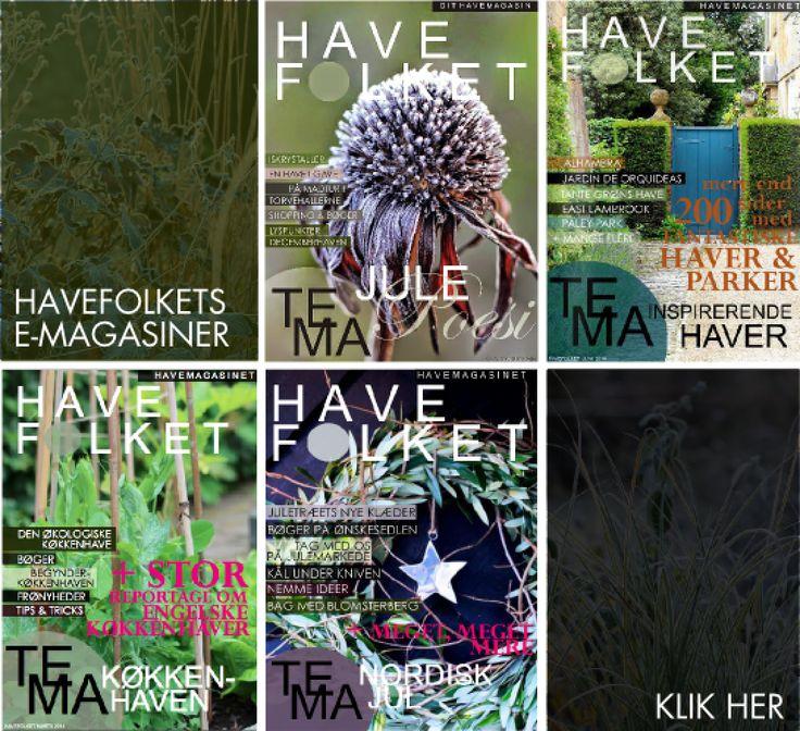 UNDSKYLD, VI RODER! - New design on HAVEFOLKET.COM