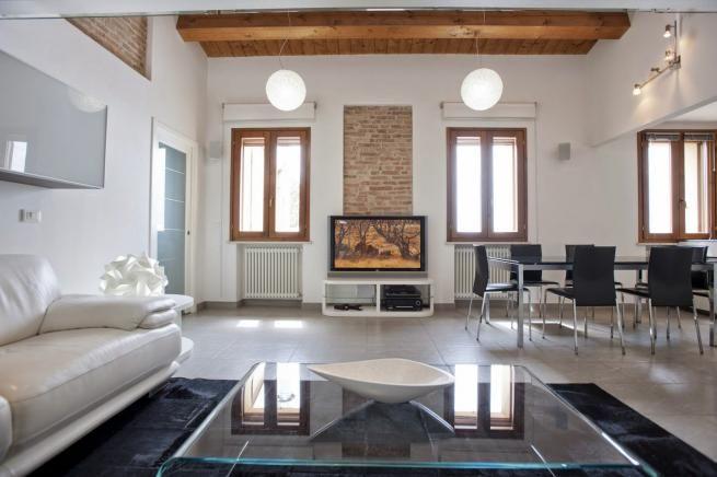 soggiorno 1 Pesaro - zona san germano - appartamento in vendita