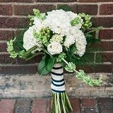 Get a Fresh White Hydrangea Bridal Bouquet and bring an exotic edge to your occasion.