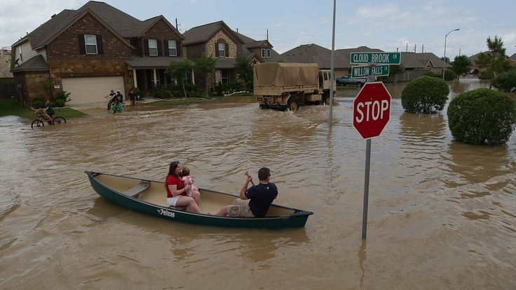 Houston flooding is a perfect storm of climate change and bad urban planning