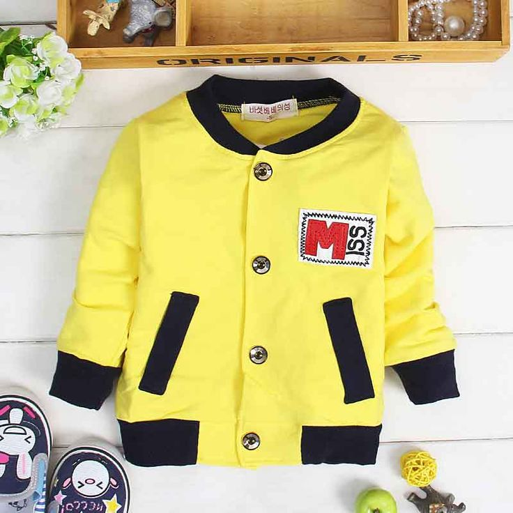 Find More Jackets & Coats Information about (6M 2T)Baby Spring Single Breasted Baseball Jacket, Boys Child Cotton Bomber Jackets, Kids Outwear Fille Clothing Toddler Jersey,High Quality jersey pants for men,China jacket unisex Suppliers, Cheap jacket letter from Witness the Growth of Children on Aliexpress.com