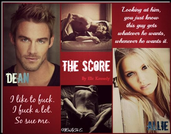 The score (Off Campus #3)  by Elle Kennedy
