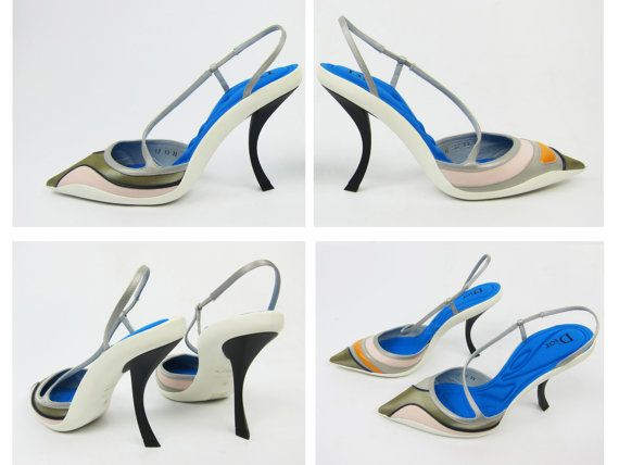 + Dior Resort Collection Sport Pump + brand new + size EU 39 US 8.5 UK 6 + measurements  insole 26 cm = 10.2 in + made in italy  === Please note