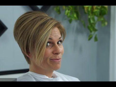 #Modern bob haircut - Bob haircut short #nape - #Haircut step by step