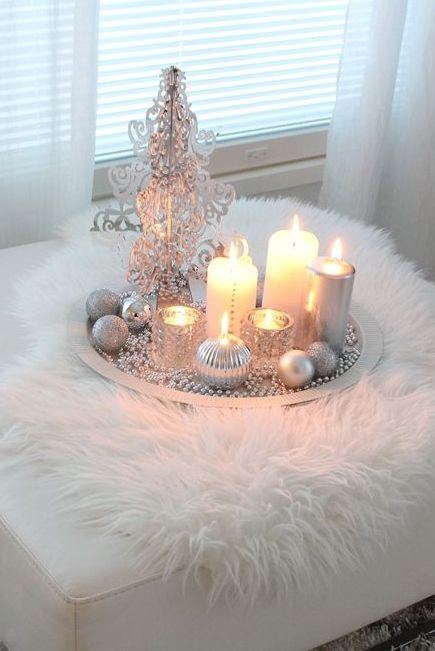 white & silver Christmas ♥