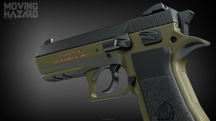 IWI Jericho 941 Cerakote, Ze'ev Harris on ArtStation at…Loading that magazine is a pain! Get your Magazine speedloader today! http://www.amazon.com/shops/raeind