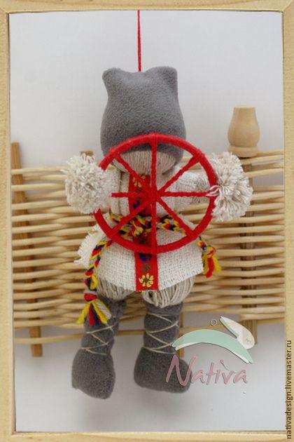 Народные куклы ручной работы. Ярмарка Мастеров - ручная работа Спиридон - Солнцеворот  - народная кукла - оберег ручной работы. Handmade.