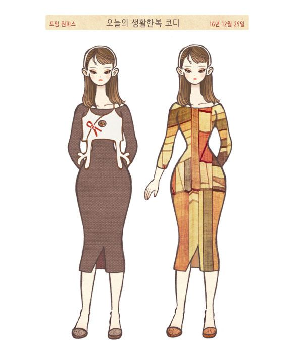 내가 좋아하는, 입고 싶은 [한복과 전통적인 요소+기성생활복] 이라는 주제로 매주 연재할 예정입니다^^