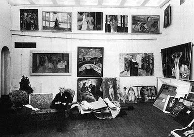 Engrammi: Foto di artisti e dei loro studi