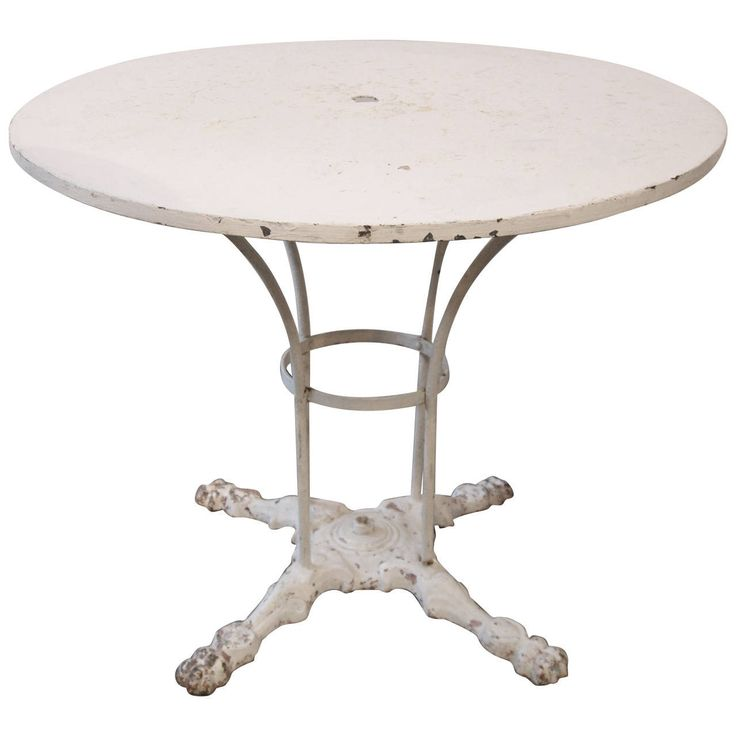19th century french garden table