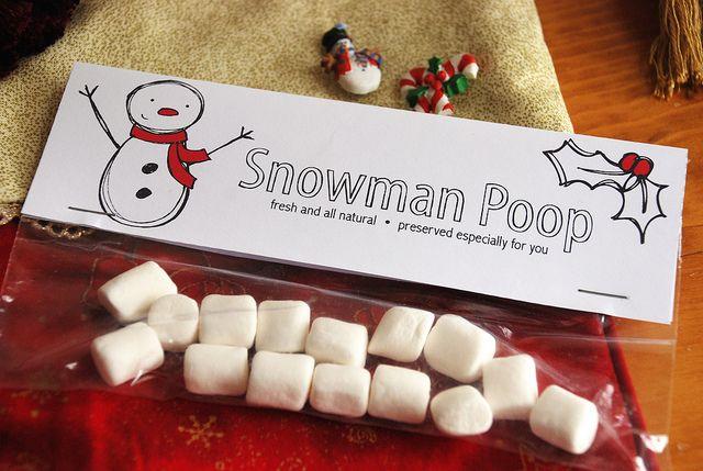Snowman Poop by Alanna George, via Flickr