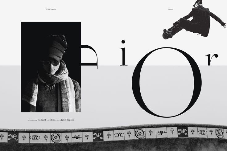프렌치 패션 하우스 '크리스찬 디올(Christian Dior)'의 남성복 라인인 '디올 옴므(Dior Homme)'가 뉴욕 기반의 패션 매거진 'At Large Magazine'과 함께 스케이트보딩 컨셉의 에디토리얼 필름을 공개했습니다.