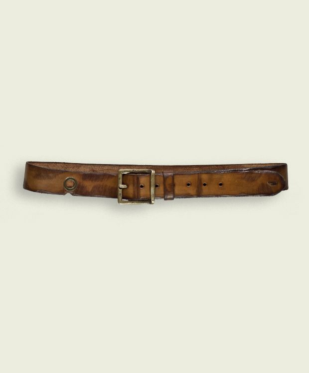 Tobruk - Leather  Belt High 4,0 cm  100% Made in Italy - Verona  Certified Original Italian Product  Real Leather  Handmade  Vintage Aviation Department  £66