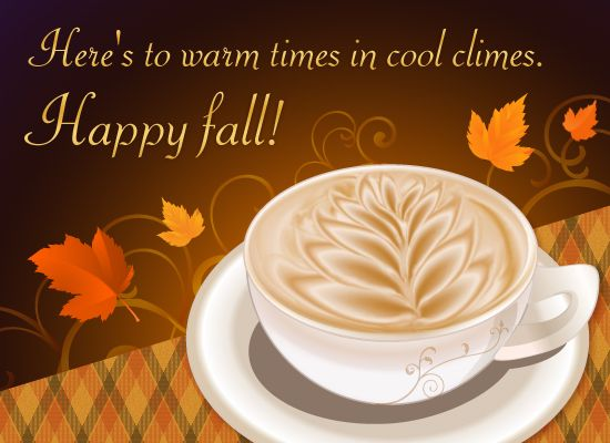 Send a loved one some warmth this fall with this yummy, sweet eCard. - more free ecards at MyFunCards.com