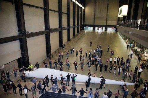Liberate Tate 'The Gift' - Turbine Hall, Tate Modern, London: 7 July 2012    http://vimeo.com/channels/360124