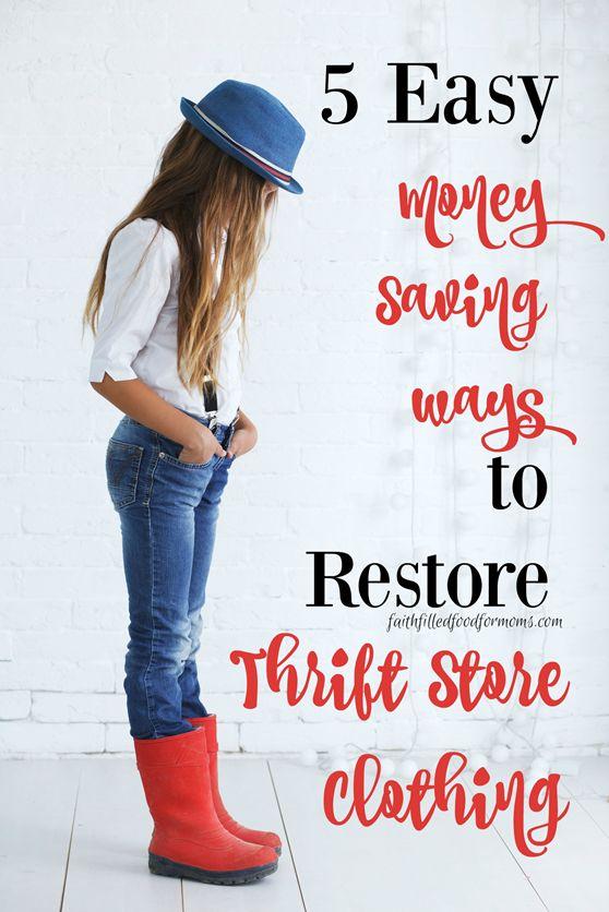 Cash for clothes stores