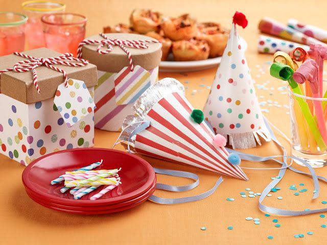 10 ideias para decorar a mesa para uma festa do dia das crianças