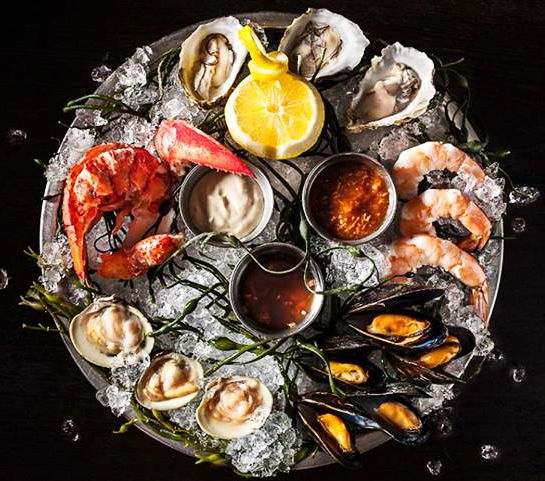 <º))))><¸   fruits de mer