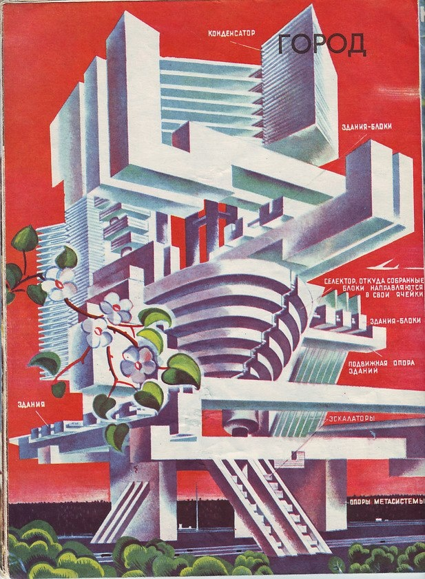 'Soviet City of the Future' circa 1960-1