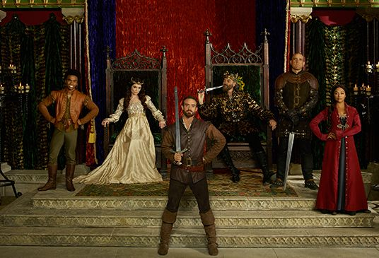 Galavant........watched it......laughed at it....luv'd it!!!!!!