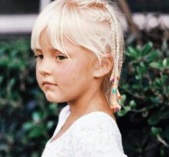 Angelique Boyer niña