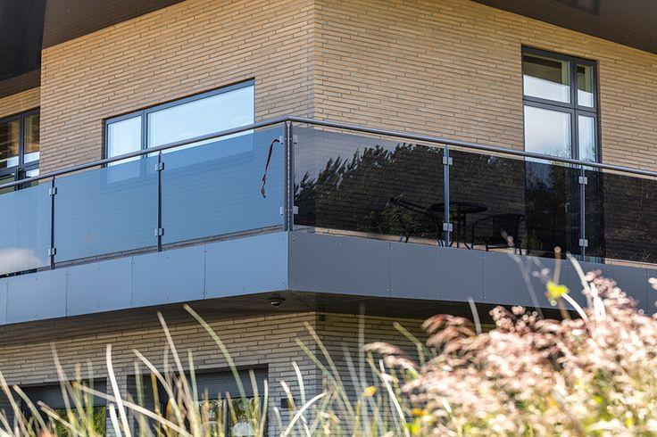 Privathjem i Nordjylland - glastrappe, interiørglas og udvendig glas