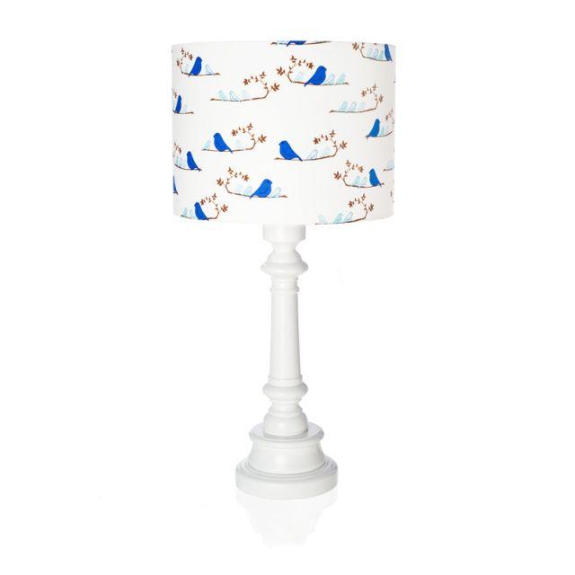 """Lampa """"Ptaszki granatowe""""  Zobacz inne produkty: http://bit.ly/1mHiui1  #lamps #forkids #design #dizajn"""