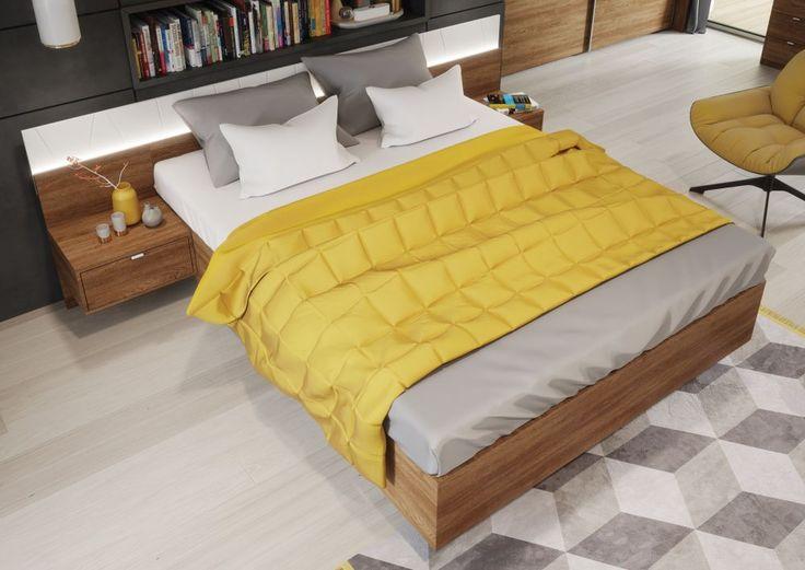 Meble do sypialni – łóżko #TwojeMeble #TwojeŁóżko #ZEFIR #SzynakaMeble
