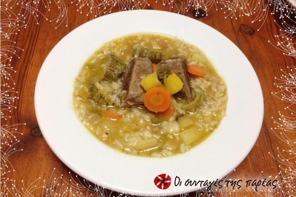 Meat soup2 #cooklikegreeks #meatsoup #beef